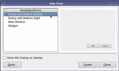 Qt 4 1: Designing a Component with Qt Designer